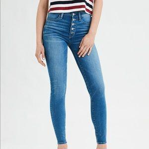 American Eagle Next Lvl High Waisted Jeans